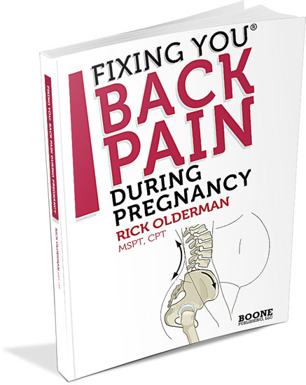 Fixing You: Back Pain During Pregnancy